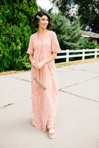 Elven Enchantment Lace Maxi Dress