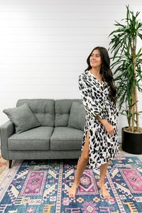 Exotic Creature Leopard Robe - Boho Valley Boutique