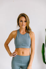 Load image into Gallery viewer, Flying V Racerback Sports Bra - Boho Valley Boutique