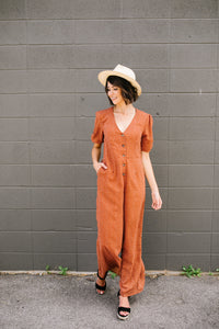 For The Rust Of Us Jumpsuit - Boho Valley Boutique
