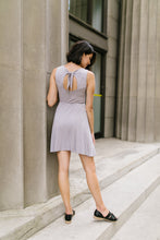 Load image into Gallery viewer, Fun + Flirty Dress In Light Gray - Boho Valley Boutique