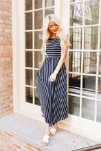 Load image into Gallery viewer, Have It Both Ways Striped Dress - Boho Valley Boutique