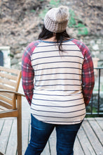 Load image into Gallery viewer, Home For The Holidays Raglan Top