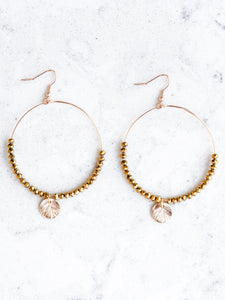 Savannah Hoop Earring - Boho Valley Boutique