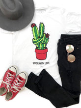 Load image into Gallery viewer, Stick with Love Tee - Boho Valley Boutique