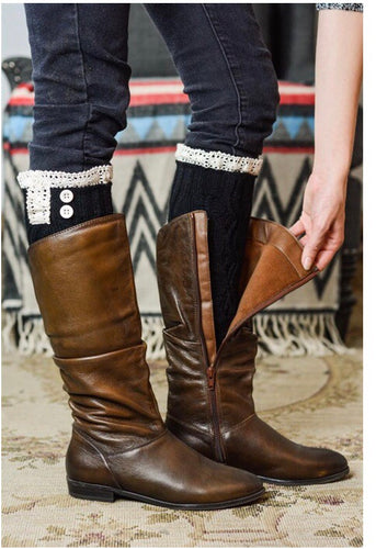 Boot Cuff Leg Warmer (4 Colors) - Boho Valley Boutique