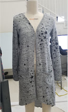 Load image into Gallery viewer, Starry Night Cardigan - Boho Valley Boutique
