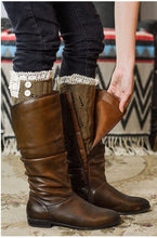 Load image into Gallery viewer, Boot Cuff Leg Warmer (4 Colors) - Boho Valley Boutique