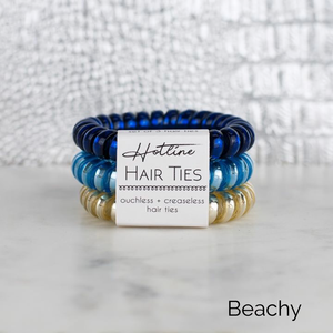 Hotline Hair Ties (multiple color sets) - Boho Valley Boutique