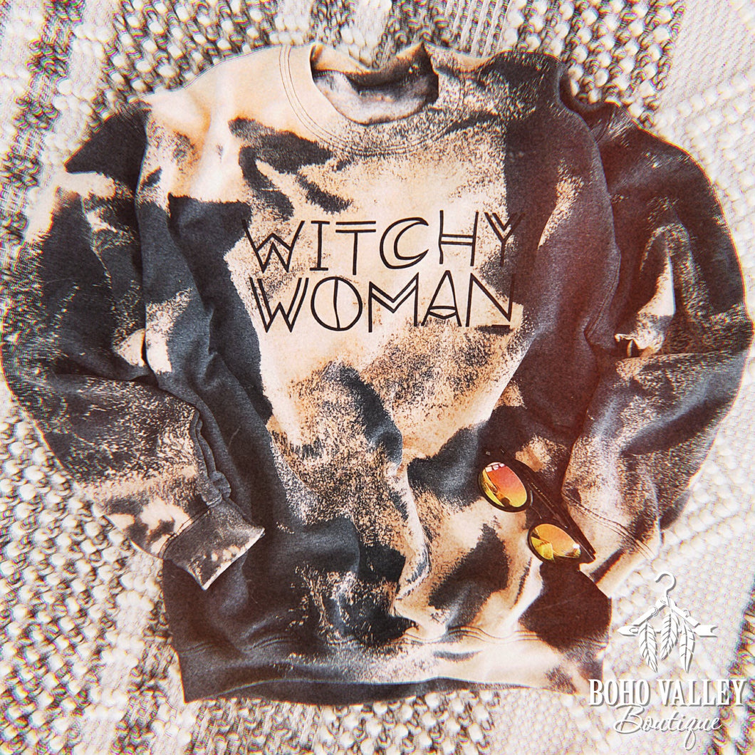 *Pre-Order* Witchy Woman Sweatshirt - Boho Valley Boutique