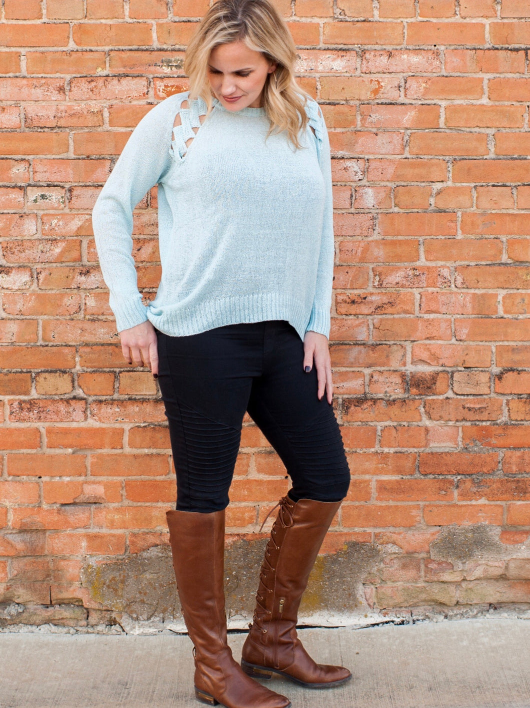 Take Me Away Sweater - Boho Valley Boutique