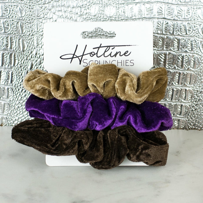Velvet Scrunchie Set - Boho Valley Boutique