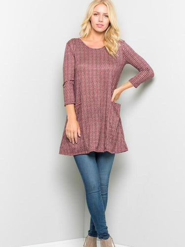 Allison Tunic Top - Boho Valley Boutique