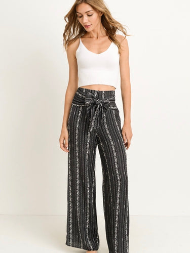 Wild & Free Woven Pants - Boho Valley Boutique