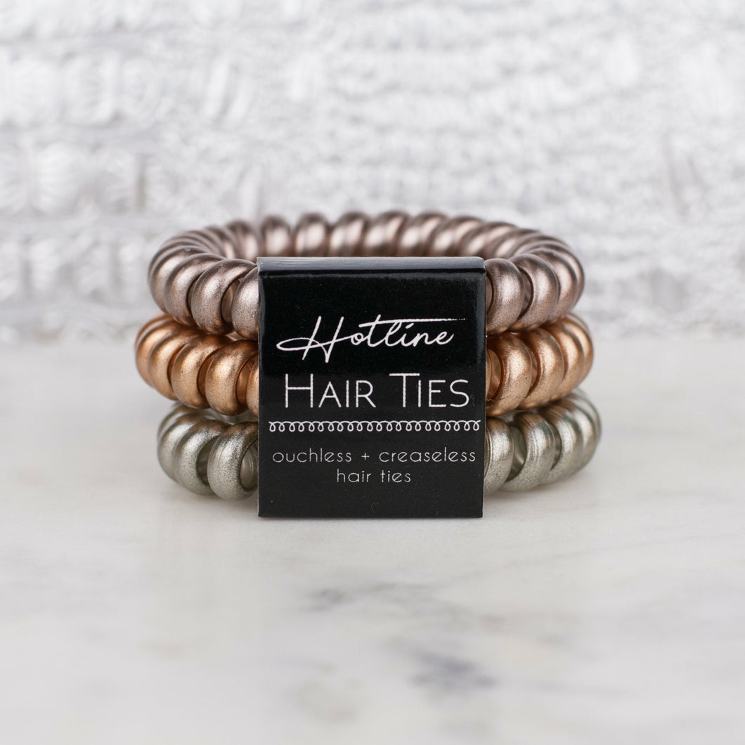 Hotline Hair Ties {Luxe Collection} - Boho Valley Boutique