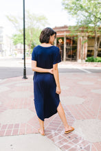 Load image into Gallery viewer, Keep Your Cool Dress In Navy - Boho Valley Boutique