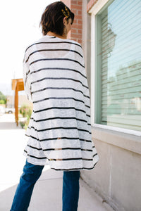 Knit Perfect Striped Cardigan - Boho Valley Boutique