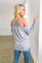 Load image into Gallery viewer, Lacey Cold Shoulder Top - Boho Valley Boutique
