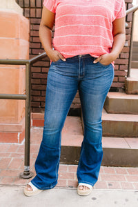 Let Them Wear Flare Jeans - Boho Valley Boutique
