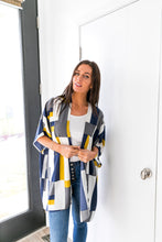 Load image into Gallery viewer, Lightweight Modern Art Color Block Cardigan - Boho Valley Boutique