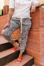 Load image into Gallery viewer, Lounging Leopard Joggers - Boho Valley Boutique