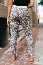 Load image into Gallery viewer, Lounging Leopard Joggers