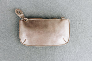 Lustre Lux Champagne Clutch - Boho Valley Boutique