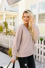 Load image into Gallery viewer, Magnificent V-Neck Top In Taupe