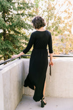 Load image into Gallery viewer, Maxed Out Black Maxi Dress