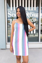 Load image into Gallery viewer, Pastel Persuasion Striped Dress