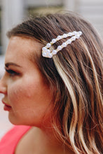 Load image into Gallery viewer, Pearl + Rhinestone Hair Clip