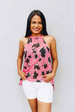 Load image into Gallery viewer, Pretty In Pink Leopard Print Halter