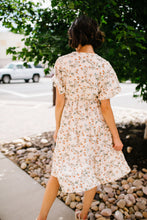 Load image into Gallery viewer, Romantic Rose Bud Midi Dress - Boho Valley Boutique