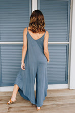 Load image into Gallery viewer, Room To Spare Jumpsuit In Antique Blue