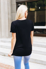 Load image into Gallery viewer, Rule The Roost Tee In Black - Boho Valley Boutique