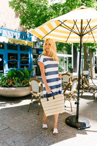 Sailing Through Summer Striped Dress