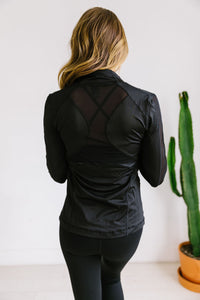 Sheer Willpower Black Jacket - Boho Valley Boutique