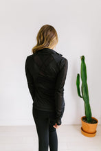 Load image into Gallery viewer, Sheer Willpower Black Jacket - Boho Valley Boutique