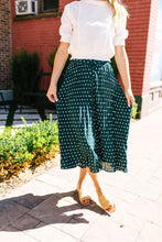 Load image into Gallery viewer, Simpler Times Polka Dot Skirt - Boho Valley Boutique