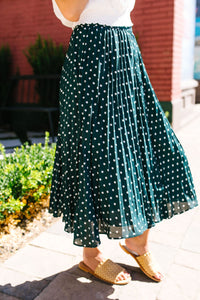 Simpler Times Polka Dot Skirt - Boho Valley Boutique