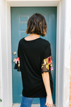 Load image into Gallery viewer, Sleeve Your Mark Black Blouse