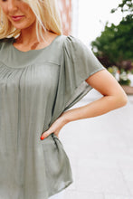 Load image into Gallery viewer, Summer Breeze Blouse In Sage