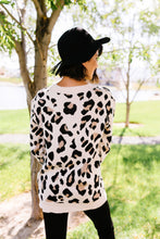 Load image into Gallery viewer, The Cat's Meow Leopard Sweater In Cream