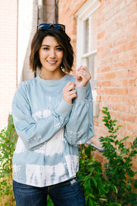 To Dye For French Terry Pullover - Boho Valley Boutique