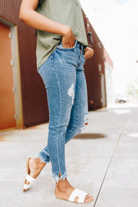 Too Cool For School Jeans - Boho Valley Boutique