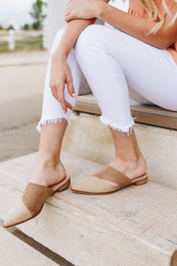 Two-Toned Suede Reptile Print Slides - Boho Valley Boutique