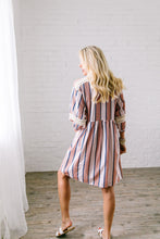 Load image into Gallery viewer, Weekend In The Hamptons Midi Dress - Boho Valley Boutique