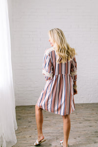 Weekend In The Hamptons Midi Dress - Boho Valley Boutique
