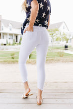 Load image into Gallery viewer, White Distressed Skinny Jeans - Boho Valley Boutique