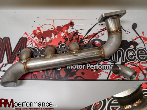 V-3 Universal SCH10 Stainless Turbo Manifold PN#007